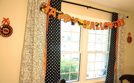 Halloween drapes