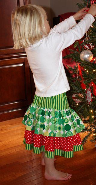 Hazel's skirt