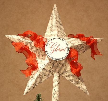 Tree star detail