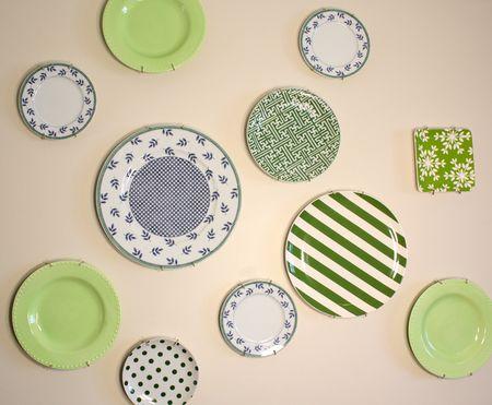 Green wall0plates