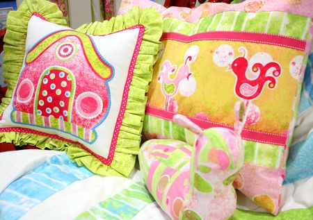 Booth pillows