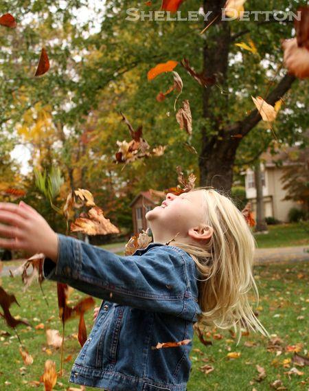 Hazel-throwing-leaves