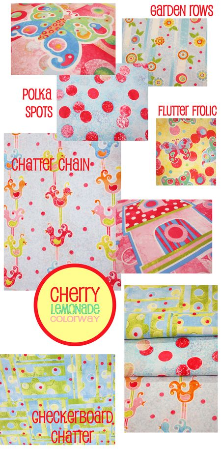 Cherry Lemonade page of prints
