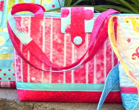 Red bag for blog