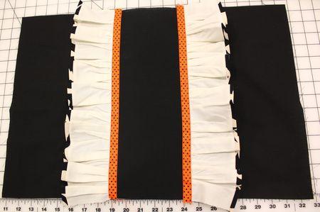 Ruffles + ribbon