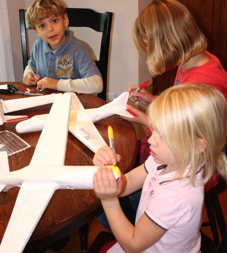 Coloring planes