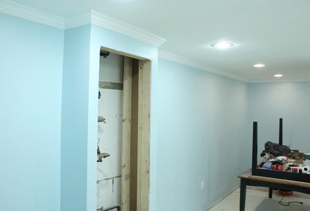 Studio painted
