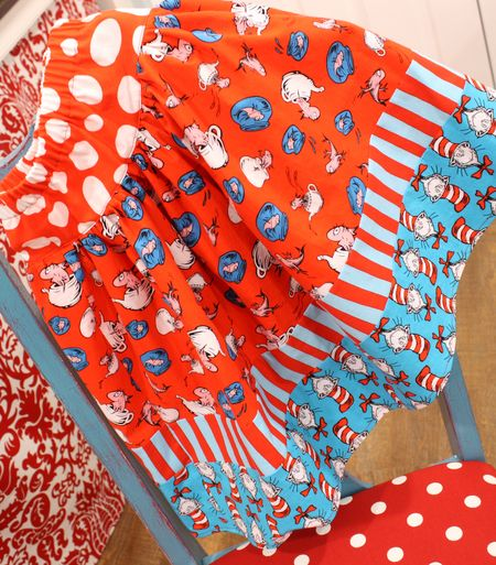 Dr. Suess skirt