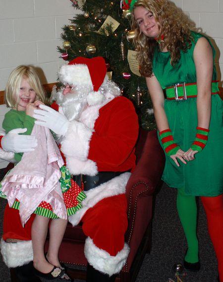Santa and Hazel
