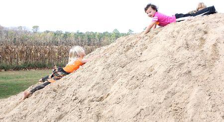 Hazel on sand