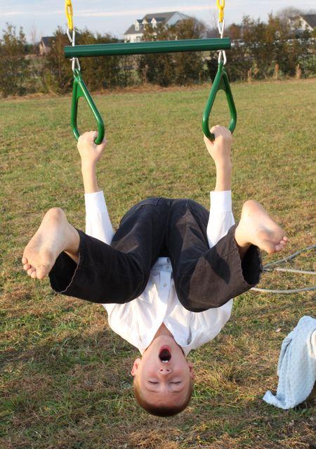 Hyrum swinging