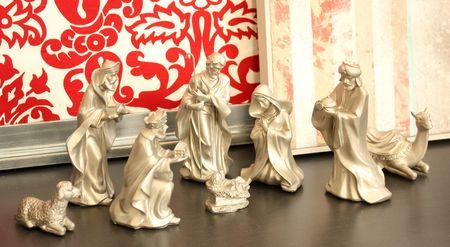 Silver nativity daylight