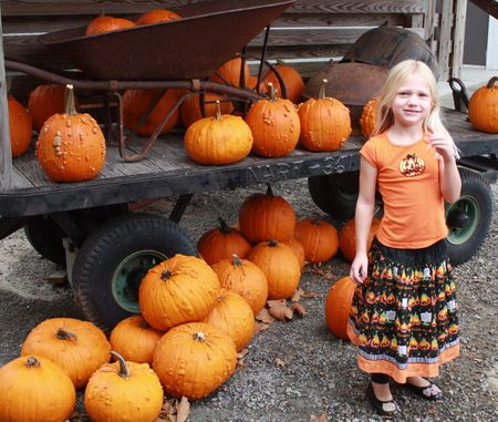 Hazel pumpkins
