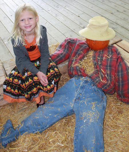 Hazel scarecrow