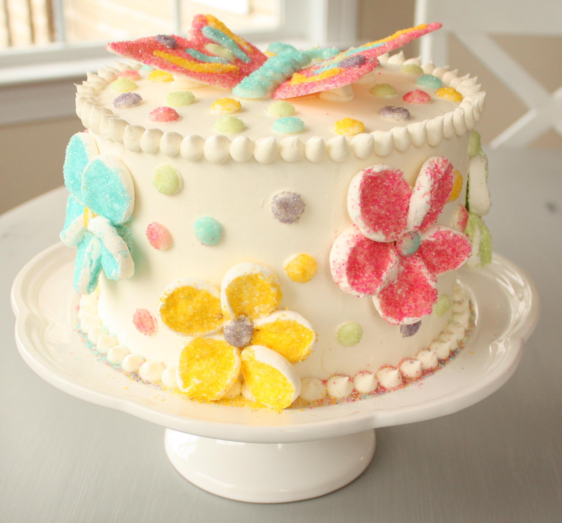 Terrific The Long Awaited Butterfly Cake 7 Layer Studio Funny Birthday Cards Online Kookostrdamsfinfo