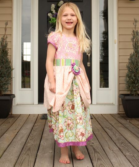 Hazel easter dress3