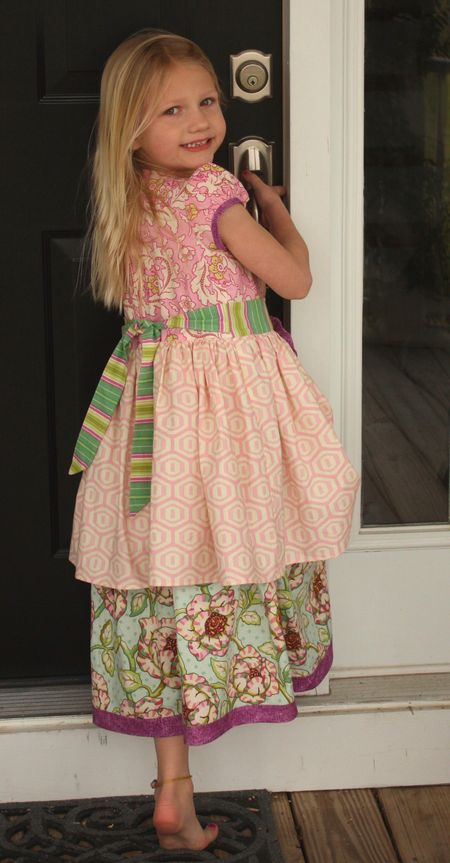 Hazel easter dress2