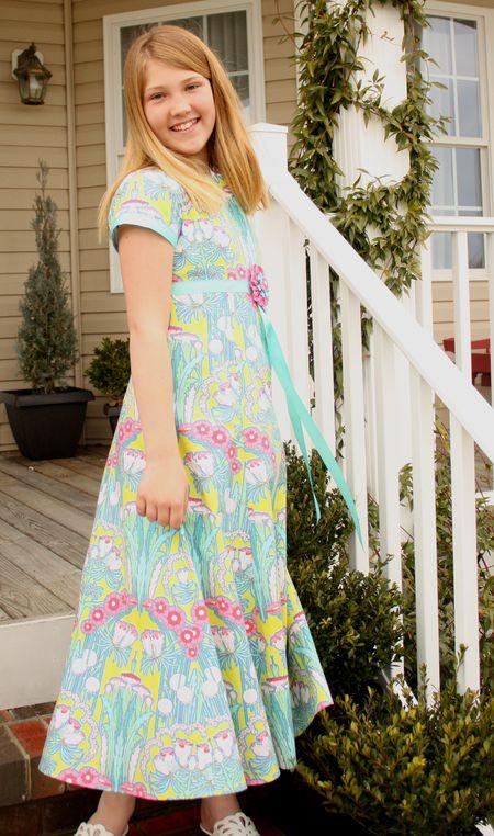 Eliza easter dress
