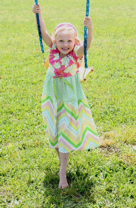 Hazel on swing2