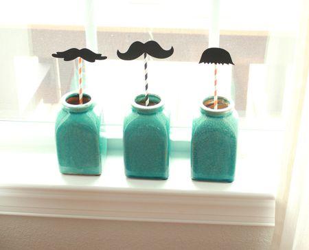 Mustache jars