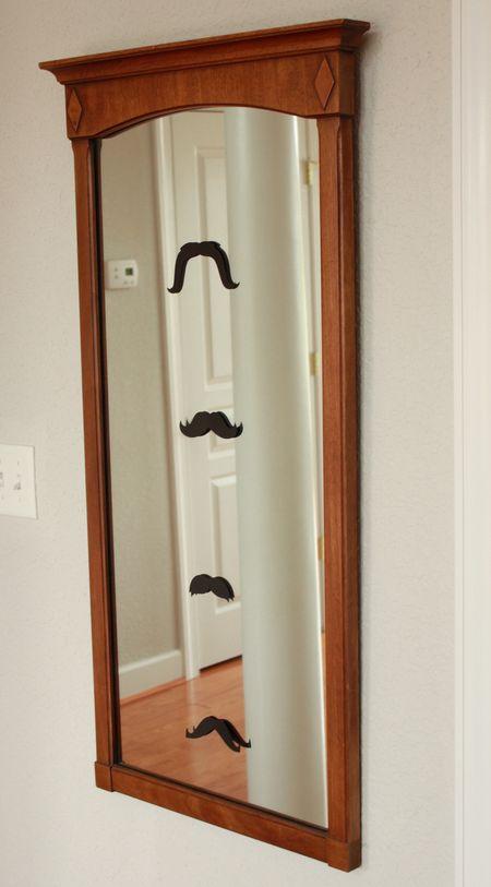 Mirror mustaches