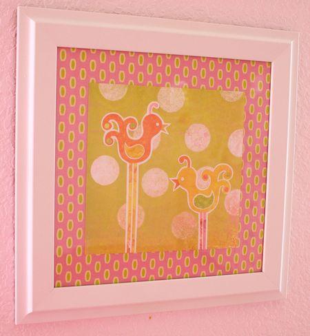 Hazel's 2 birdie art