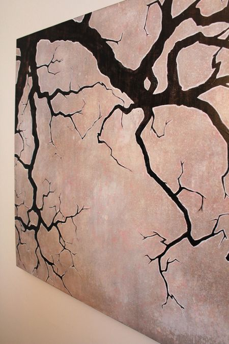 Dead branch painting
