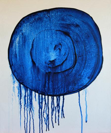 Dark Blue Raincloud