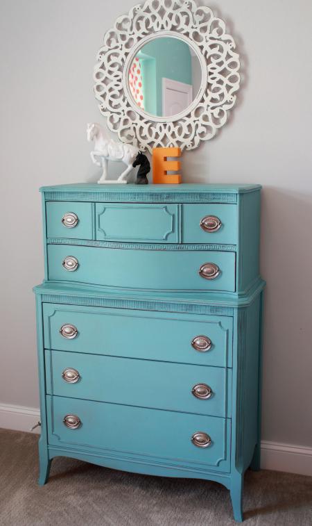 Eliza's dresser