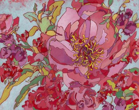 Peony Bouquet WEB