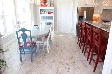 Kitchen floor email
