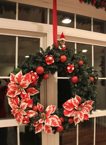 Living room wreath