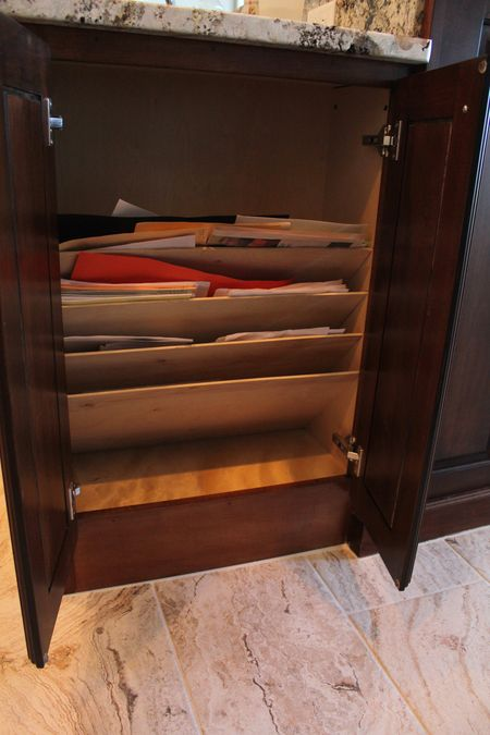 Slat drawer