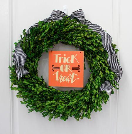 Front wreath inside