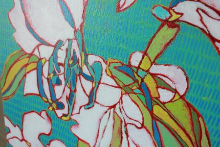 White Lilies detail